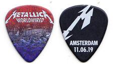 Metallica James Hetfield Amsterdam 6/11/19 Guitar Pick - 2019 WorldWired Tour