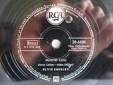 78rpm Elvis Presley-Hound Dog-RARA pressione tedesca!
