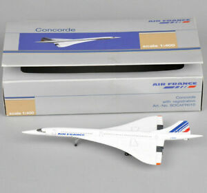 1:400 Scale Air France 1976-2003 Concorde Plane Model Diecast Aircraft Toys