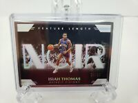 2019-20 Panini Noir Feature Length Isiah Thomas #24/25 PISTONS