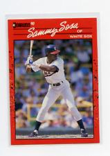 1990 DONRUSS # 489  SAMMY SOSA , ROOKIE