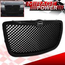 04-10 CHRYSLER 300C BLACK MESH BENTLEY STYLE FRONT GRILLE WITH 300 GRILL EMBLEM