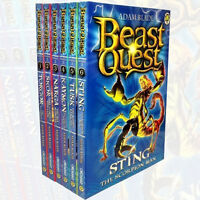 Beast Quest Series 3, (1-6) 6 Books Collection Set Pack By Adam Blade New PB