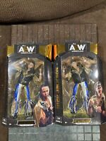 AEW UNRIVALED SERIES 3 Matt #23 / Nick #24 Jackson YOUNG BUCKS 2 pack