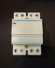 Hager ESC440 40a 4Pole NormallyOpen Contactor 230v Coil * USED *