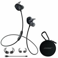 Bose SoundSport Wireless Bluetooth Headphones Headsets Earbuds Neckband - Black