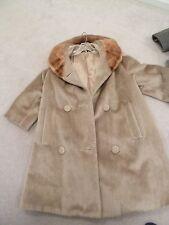Vintage ladies' long faux fur coat  BRAZOTTA STYLED BY Sportowne
