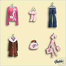 2006 Hallmark Ornaments Barbie  Fashion Miniature