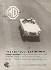1960 MGA 1600  ~  CLASSIC ORIGINAL PRINT AD