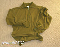 UK BRITISH ARMY SURPLUS SHIRT FIELD,NORGIE,NORWEGIAN SHIRT EXTREME COLD WEATHER