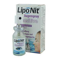 Lipo Nit Augenspray Sensitive 10ml (156€/100ml) LipoNit Augenpflege Nachbenetz.