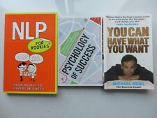 Pack Of 3 Self Help, Business and Money Books. Inc Micheal Neil, You Can Have...