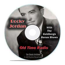 "Rocky Jordan, 1,019 Old Time Radio Shows, with bonus ""The Goldbergs"" OTR DVD G15"
