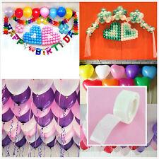 lot/100 Dots White Glue Permanent Adhesive Bostik Wedding Party Balloon Decor