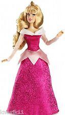 "NEW Disney Store Princess Aurora SLEEPING BEAUTY BARBIE DOLL 12"" Poseable NIB!"