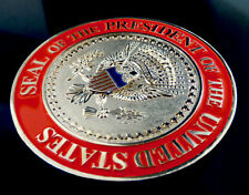 "Superior 3"" Silver POTUS Donald Trump Medal Display Signed Eagle Challenge Coin"