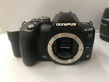 OLYMPUS DSLR & 4 LENSES   E-510 10.0MP