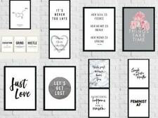 Inspirational Quotes Poster Wall Decor Print Wall Art Pictures Decor Funny Gift