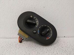 2002-2010 Mercury Mountaineer Ac Heater Climate Control 77023
