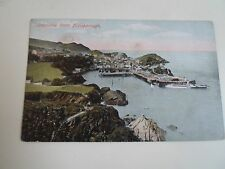 Vintage Postcard Ilfracombe From Hillsborough Franked & Stamped 1907