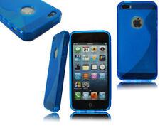 Fundas y carcasas Apple color principal azul de silicona/goma para teléfonos móviles y PDAs