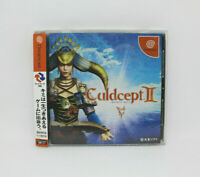 Sega Dreamcast Culdcept II Spinecard Japan Version