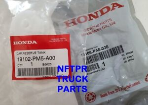NEW Genuine Honda Radiator Coolant Overflow Recovery TANK CAP & JOINT SPOUT PA0