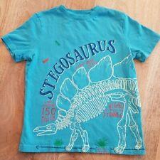 Dinosauro NELLA NEVE a maniche lunghe nuovo senza etichetta 4 /& 5 anni