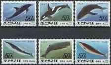 Timbres Faune marine Cétacés Baleines Corée 2341/6 ** lot 29090