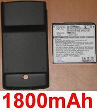 Coque + Batterie 1800mAh type  DIAM100 DIAM160 Pour HTC Touch Diamond P3702