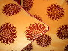 Zoffany Throw pillow covers Velvet fabric ARUNDEL yellow red Starburst new PAIR