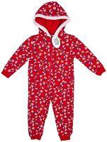 GIRLS RED PEPPA PIG  ALL IN ONE PYJAMAS FESTIVE CHRISTMAS DESIGN 9M-6YRS