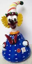 Large Murano Art Glass  Italian Label Signed Clown Very Unusual Gambaro & Poggi?