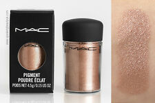 MAC GLITTER PIGMENT POWDER MUSEUM BRONZE NEW IN BOX 100% AUTHENTIC