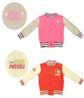 Paw Patrol Official Kids Baseball Jacket Coat Marshall or Skye Sizes 1-5 Years