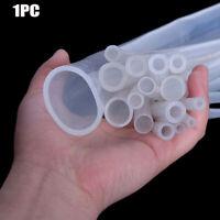alimentaire tuyau d'arrosage caoutchouc mou tubes de silicone translucide