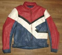""""""" Polo """" Men's Motorcycle - Leather Jacket/Biker Jacket Combination IN Approx."""