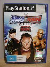 SmackDown vs. Raw 2008...PS2..FREE POST