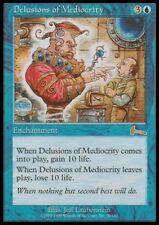 MTG 4x DELUSIONS OF MEDIOCRITY - Urza's Legacy *Rare*