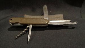 BUNDESWEHR GERMAN ARMY KNIFE by VICTORINOX  MINT GERMAN MILITARY!!
