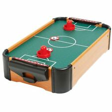 Mini Table Top Air Hockey Football Pool Game Set Desktop Arcade Toy