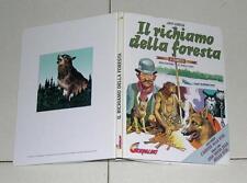 Jack London IL RICHIAMO DELLA FORESTA a fumetti Sergio Toppi IL GIORNALINO 1996