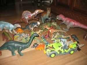 lotto 10kg  giocattoli dinosauri Disney jurassic park papo velociraptor T-rex
