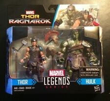 "Marvel Legends Series! Thor Ragnarok 2 Pack (Thor and Hulk) 3.75"" Figures!"