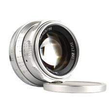 SILVER ✮ 7Artisans 35mm f/1.2 lens ✮ Fujifilm FX (XF, XC) mount ✮ Fuji ✮ 35/1.2