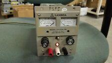 Lambda LP-410A-FM Regulated Power Supply Good!  0-10V  2.0A