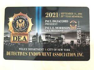 1 BRAND  NEW   COLLECTIBLE  2021  DEA  PBA CARD  LIKE CEA LBA SBA PBA CARD