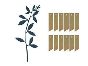 Tischdeko-Set Zweige 6 er Set Kommunion / Konfirmation dunkelblau Platzkarten