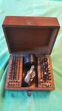 VINTAGE BOLEY & LEINEN WATCHMAKERS STAKING TOOL REPAIR SET
