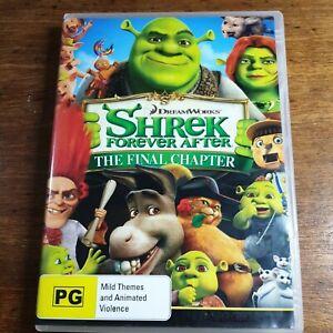 Shrek Forever After DVD R4 LIKE NEW FREE POST